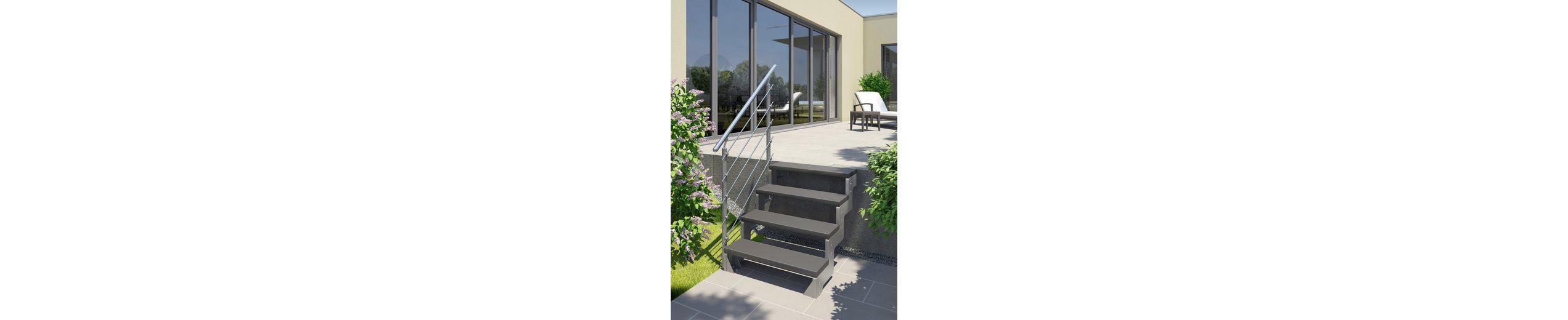 Außentreppe »Gardentop«, Startset für 2 Stufen