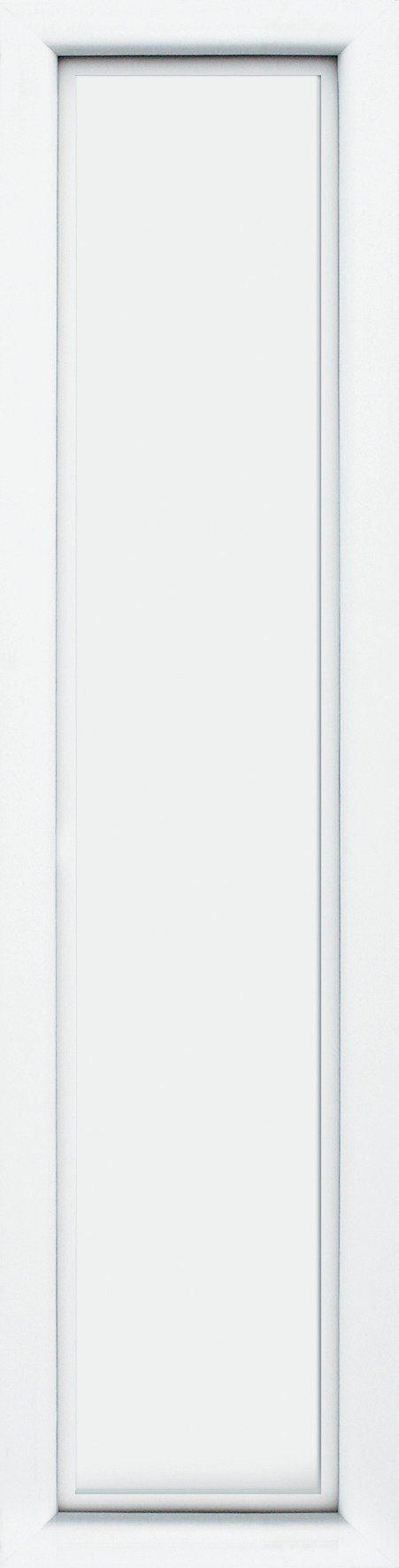 KM MEETH ZAUN GMBH Seitenteile »S04«, für Alu-Haustür, BxH: 60x198 cm, weiß