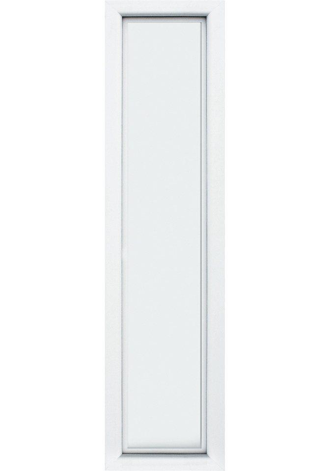 Seitenteil für Alu-Haustür »S04« in weiß