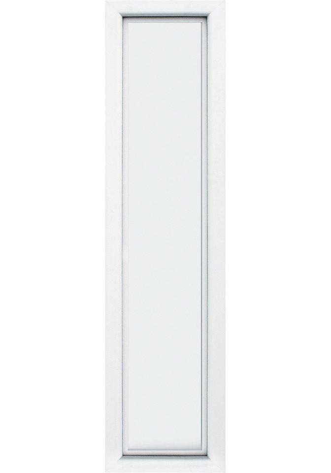 KM MEETH ZAUN GMBH Seitenteile »S04«, für Alu-Haustür, BxH: 60x208 cm, weiß