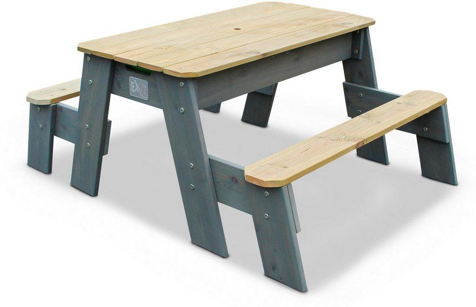 Sandkasten »Aksent«, B/L/H: 121/94/50 cm, Sand- und Wassertisch