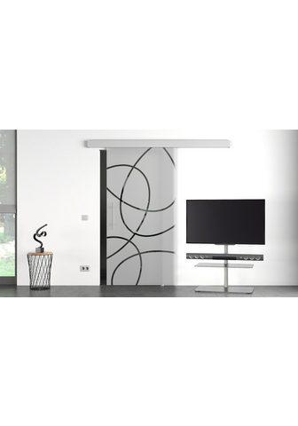 GLASTÜRKONTOR HAMBURG Stiklinės stumdomos durys »Eco Elipse«...