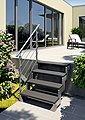 DOLLE Geländersystem »Gardentop«, Starterset 4, 2 Pfosten und Handlauf, Bild 2