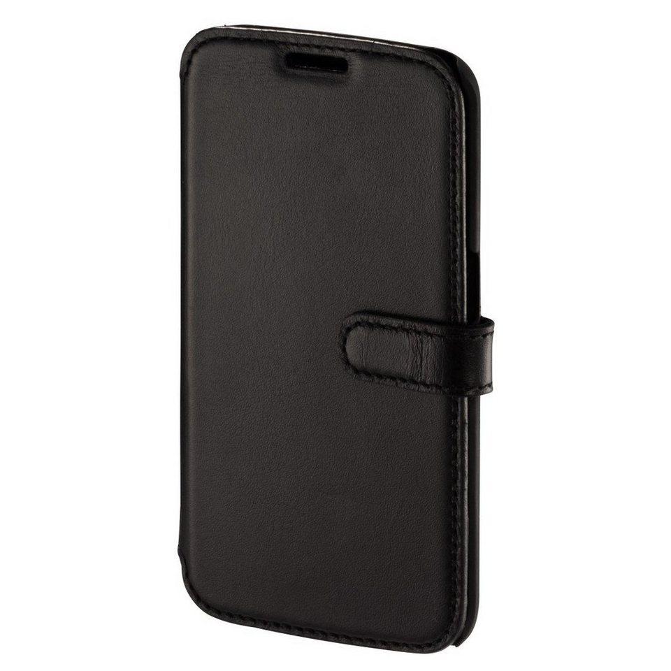 Hama Portfolio Prime Line für Samsung Galaxy S6 Edge, Nappa-Schwarz in Schwarz