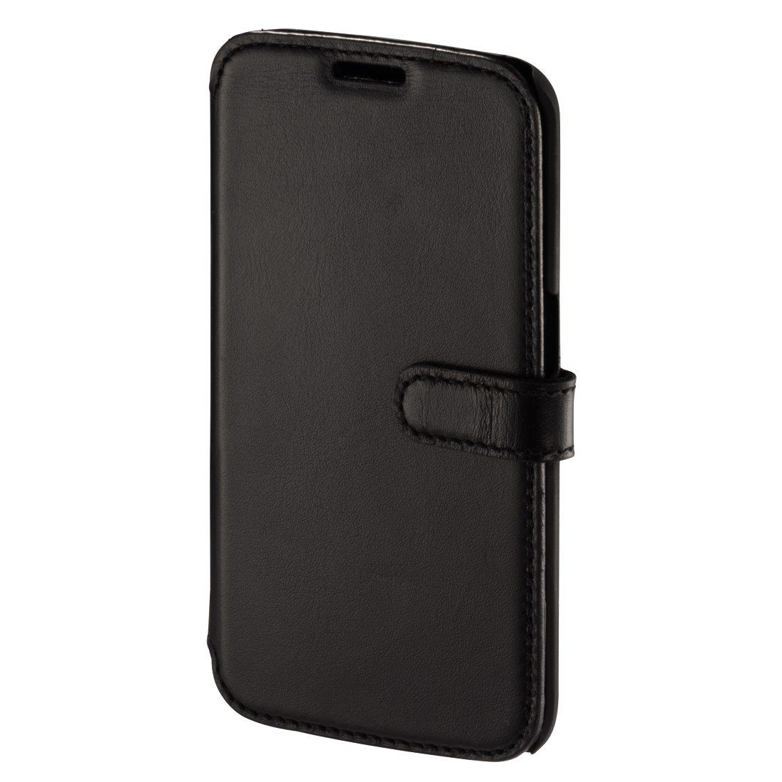Hama Portfolio Prime Line für Samsung Galaxy S6 Edge, Nappa-Schwarz