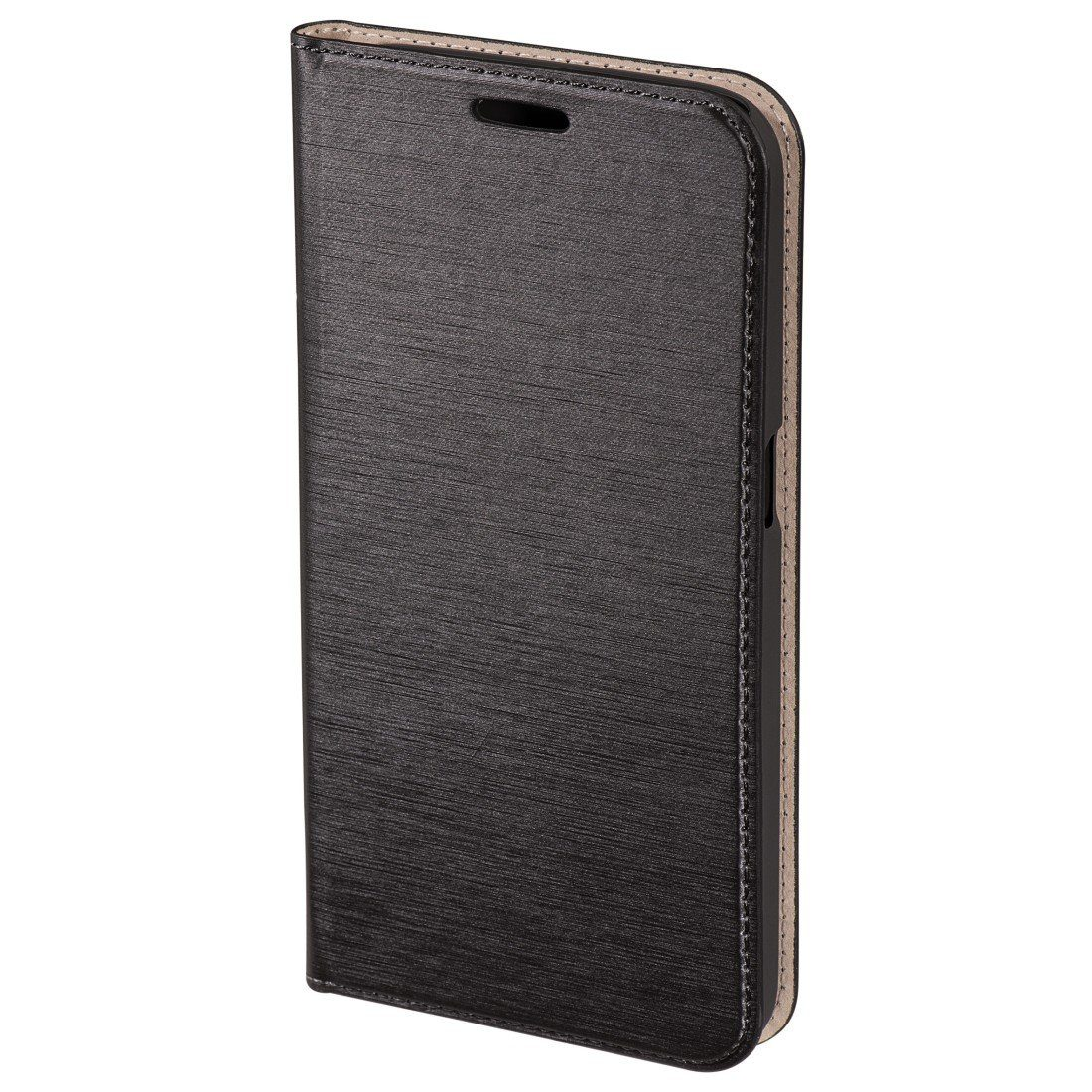 Hama Booklet Slim für Samsung Galaxy S6, Dunkelgrau