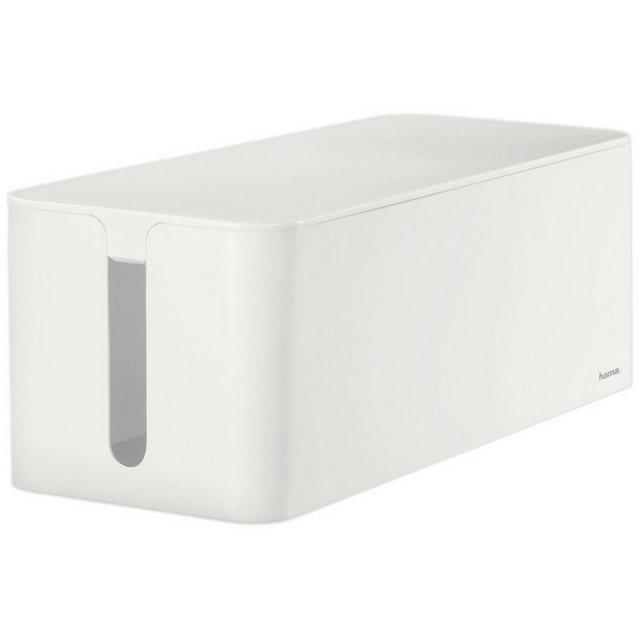 Hama Kabelbox Maxi, Weiß | Baumarkt > Elektroinstallation > Weitere-Kabel | Hama