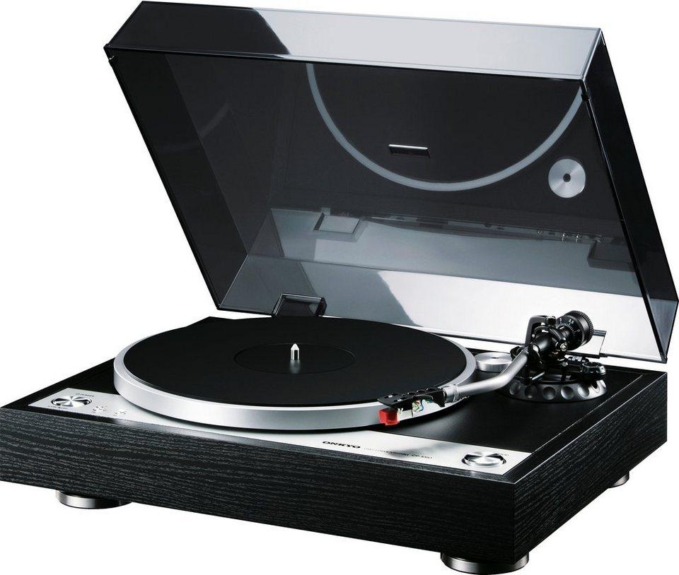 Onkyo CP-1050 Plattenspieler in schwarz