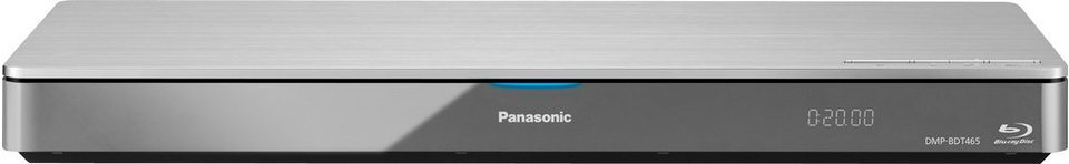 Panasonic DMPBDT465EG9 3D Blu-ray-Player 3D-fähig WLAN in silberfarben