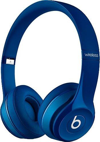 Beats by Dr. Dre Solo2 wireless Funk-Kopfhörer in blau