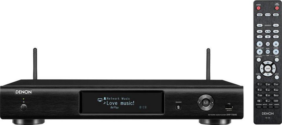 Denon DNP-730AE I WLAN in schwarz