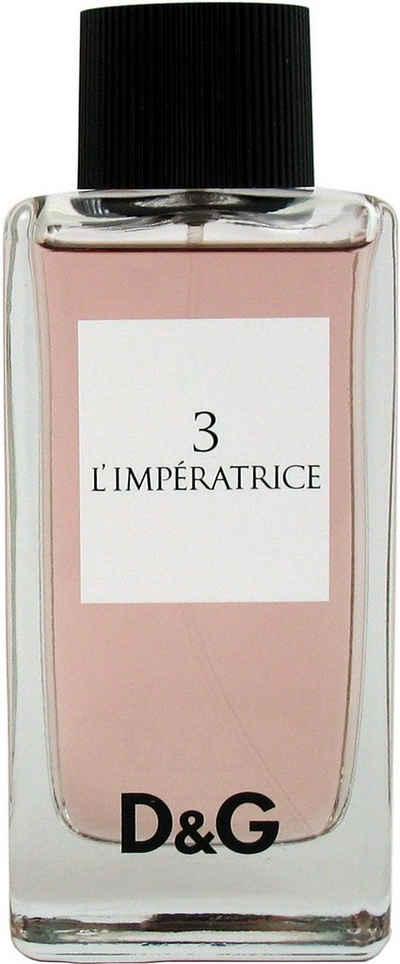 DOLCE & GABBANA Eau de Toilette »3 L`Impératrice«