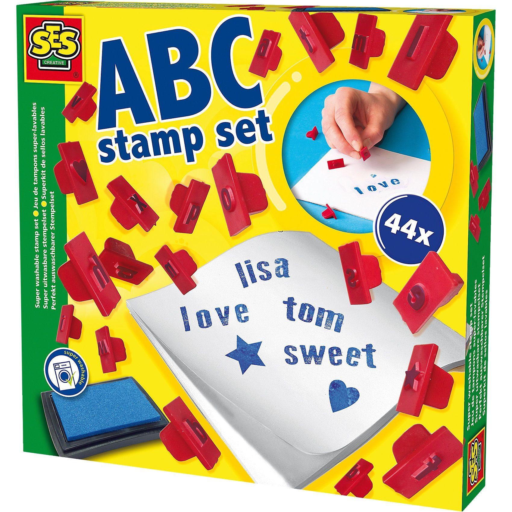 SES Creative ABC Stempelset