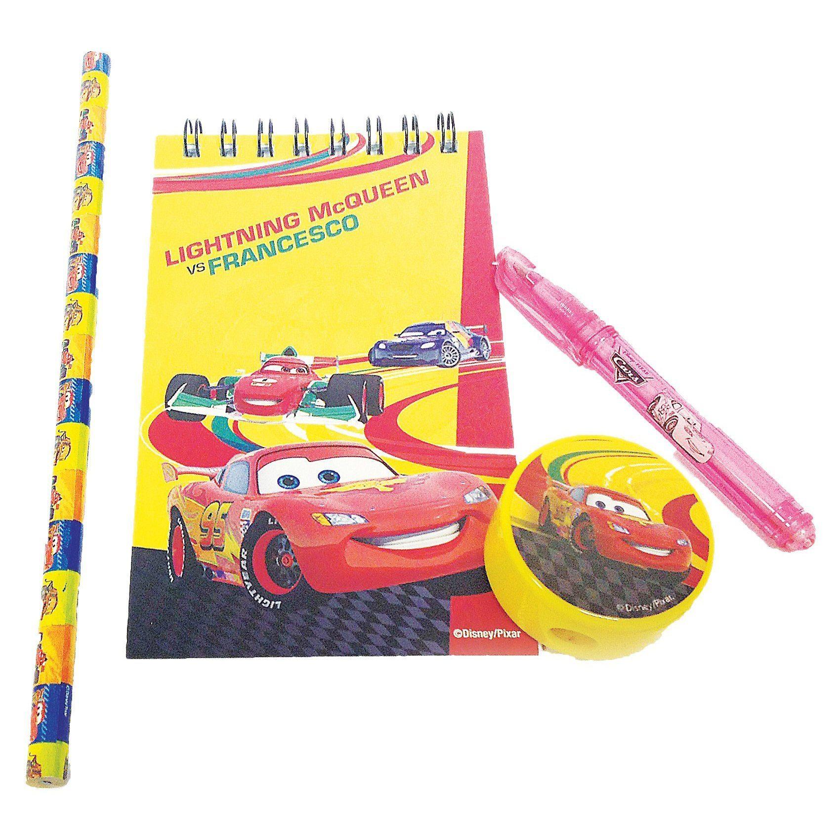 Amscan Schreibset Disney Cars, 20-tlg.