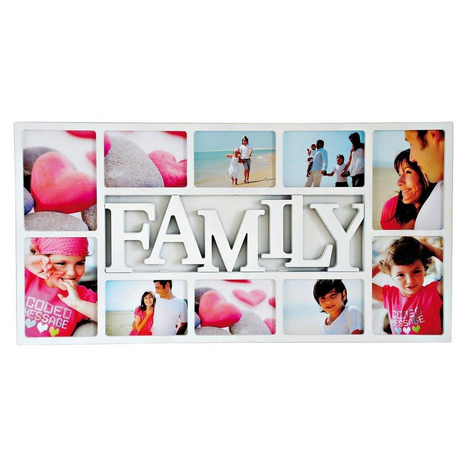 """Tawo Wandgalerierahmen für 10 Bilder """"Family"""""""