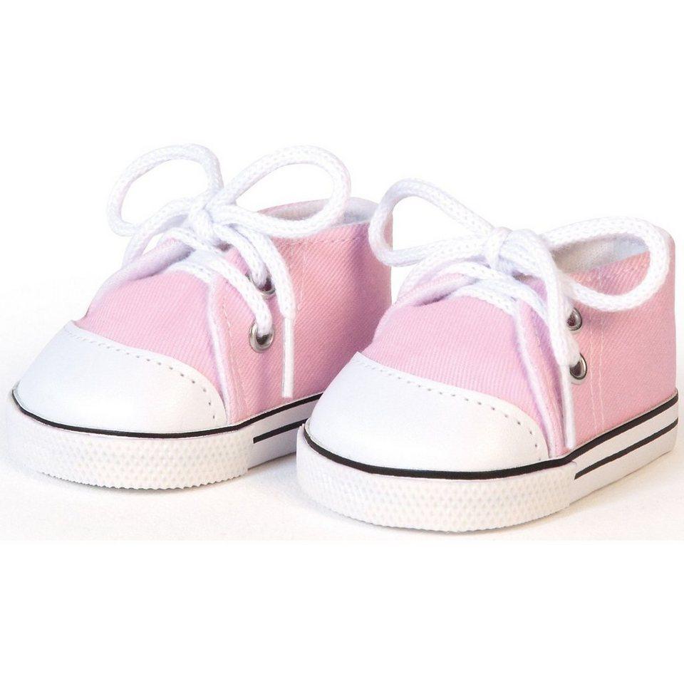 BAYER Puppenkleidung Schuhe rosa, 43cm