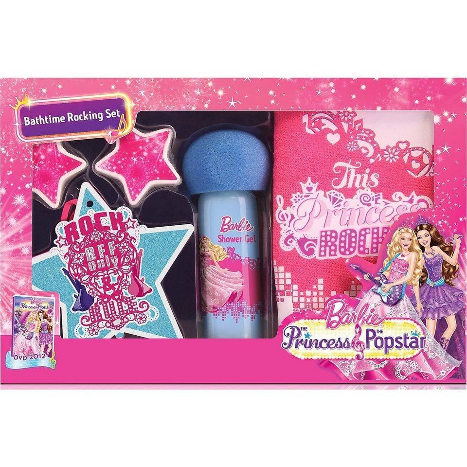Badespaß Geschenkset, Barbie, Rockstar, 5-tlg.
