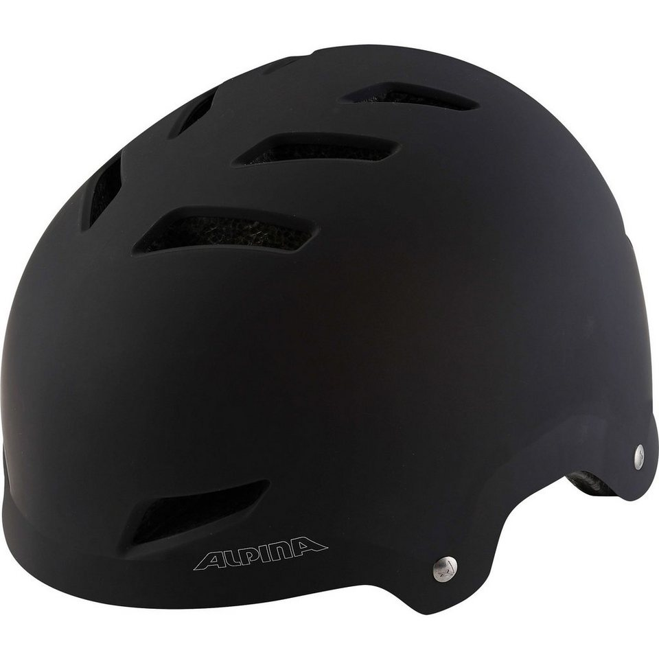 ALPINA 51-55 Fahrradhelm Alpine Park Jr. Black matt