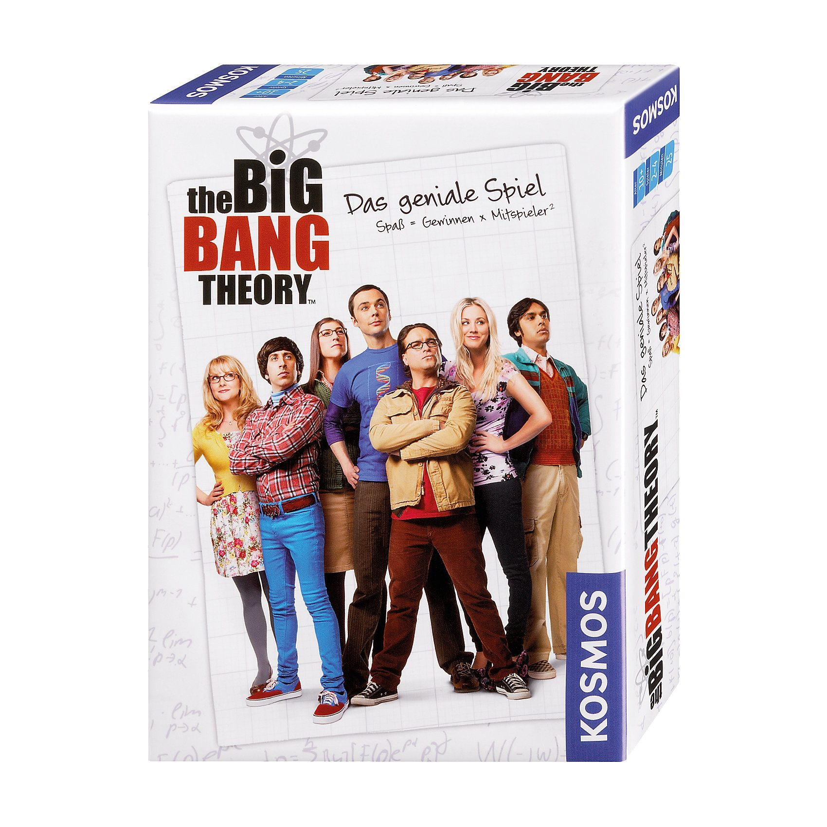 Kosmos The Big Bang Theory - Das geniale Spiel