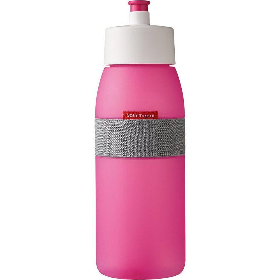 Trinkflasche ellipse pink, 500 ml in pink