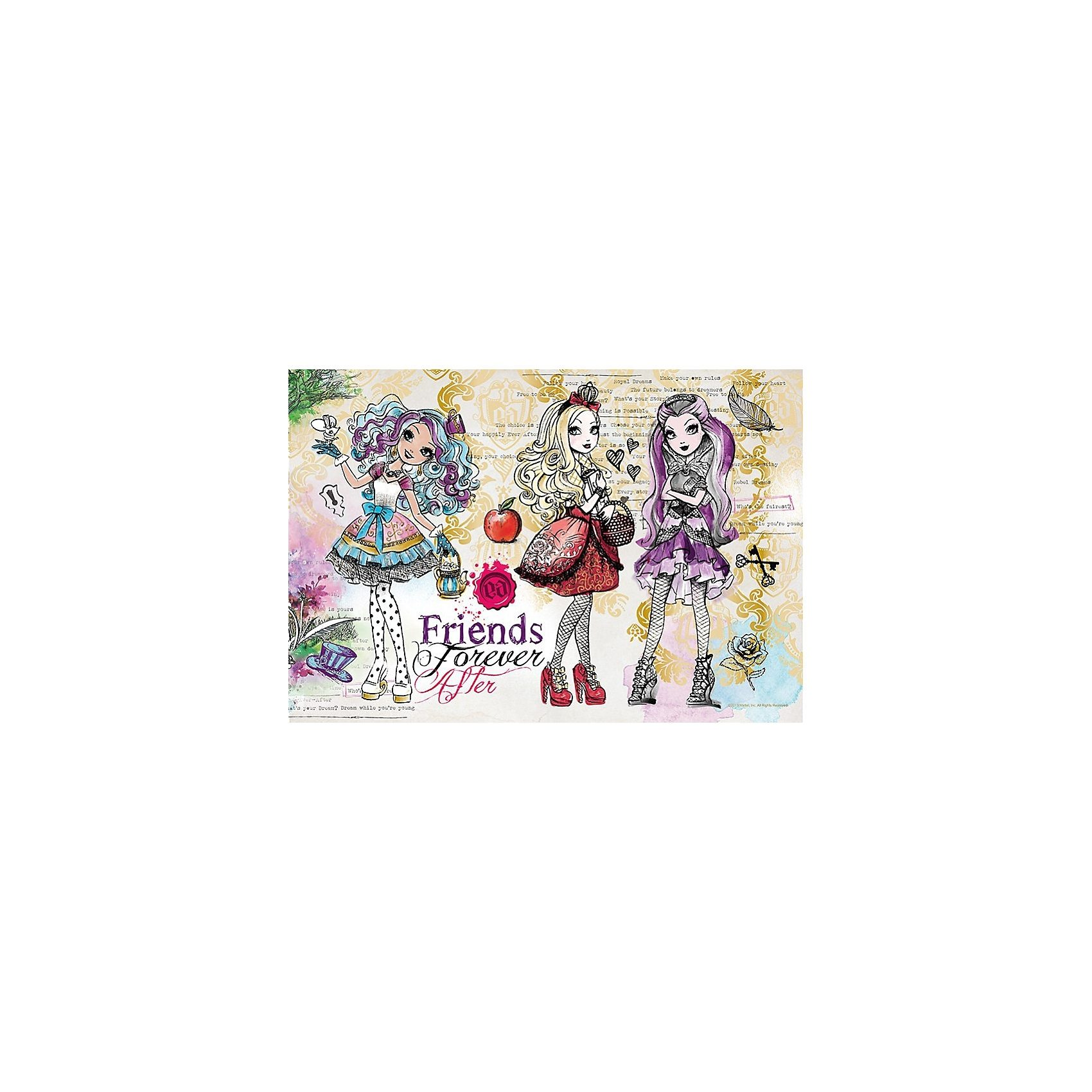 Trefl Shine Color Puzzle 160 Teile - Ever After High