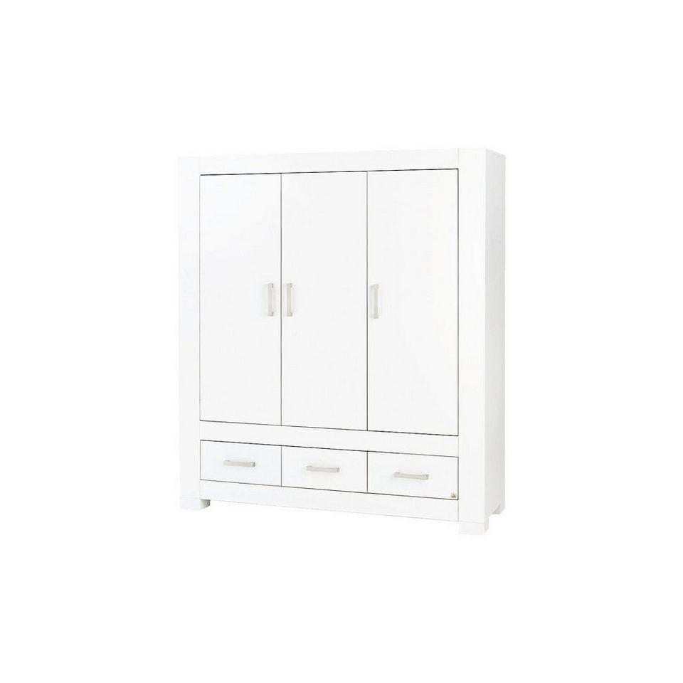 Pinolino Kleiderschrank ICE 3-trg., MDF weiß