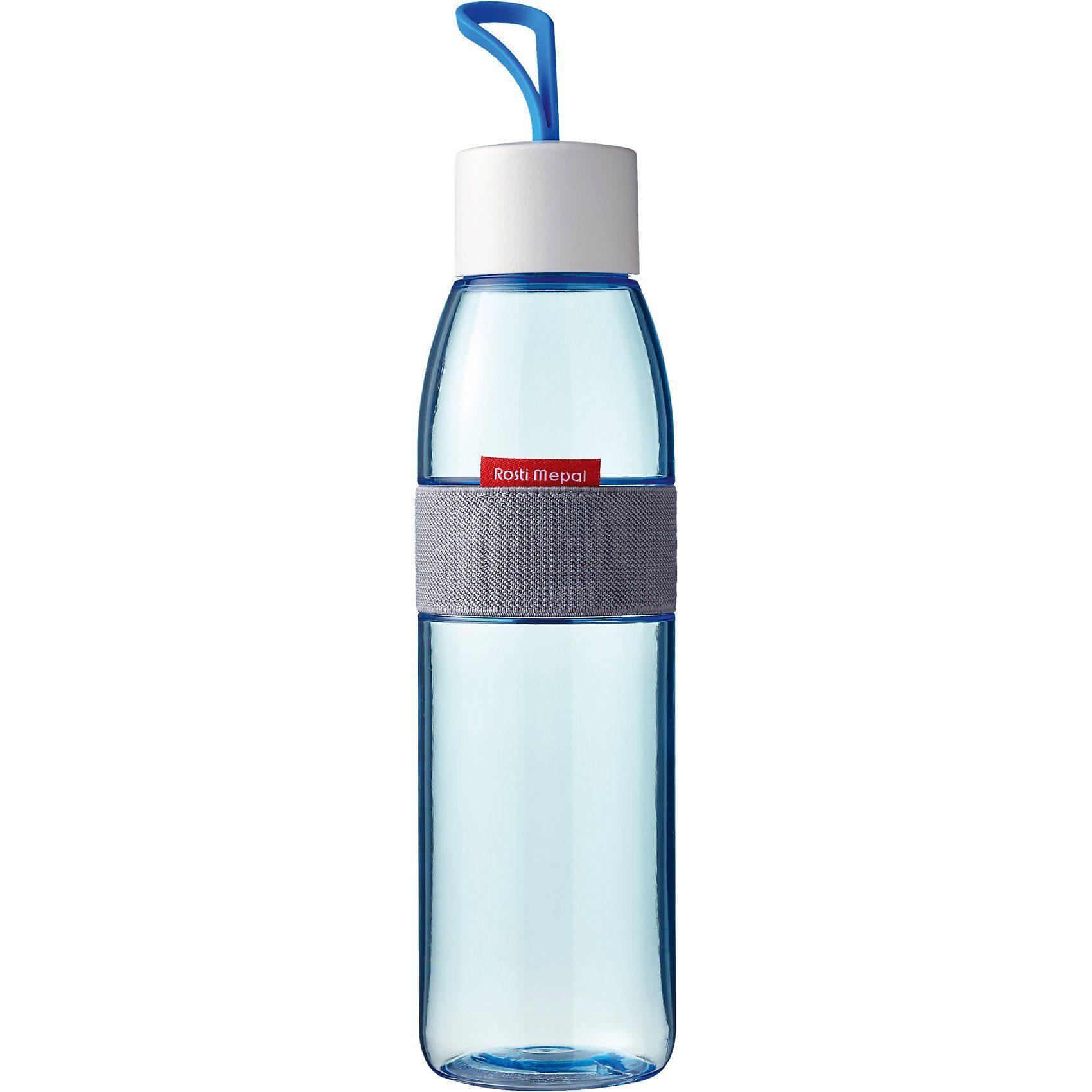 Rosti Mepal PE-Trinkflasche ellipse aqua, 500 ml