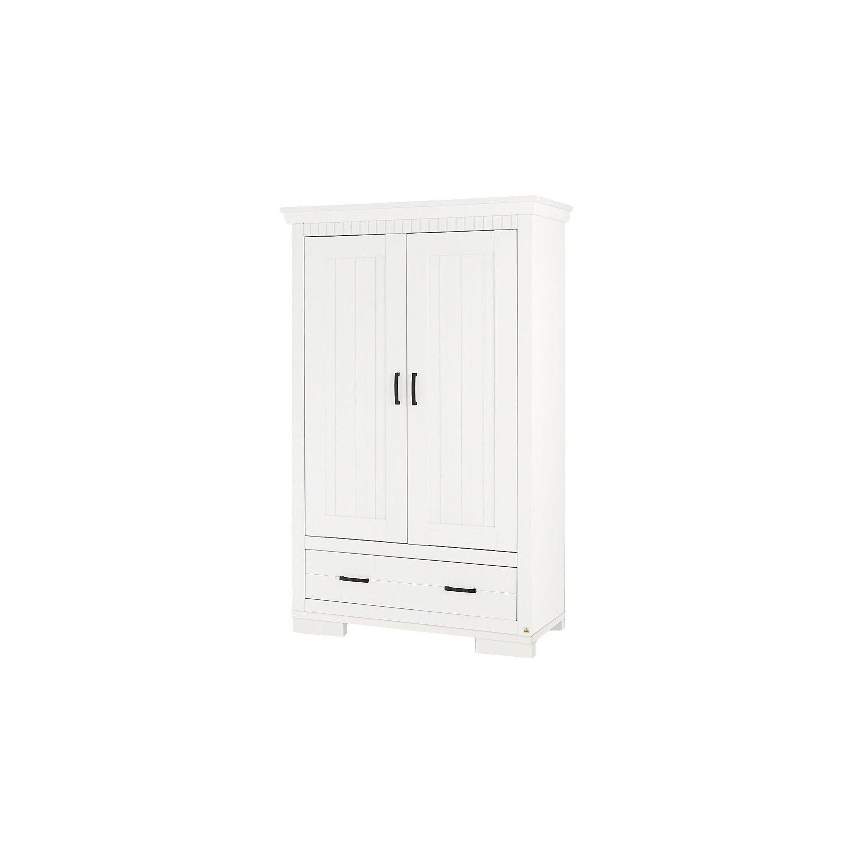 Pinolino Kleiderschrank SKROLLAN 2-trg., MDF weiß