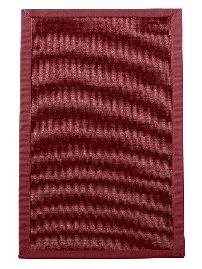 Dekowe Sisal-Teppich in rot