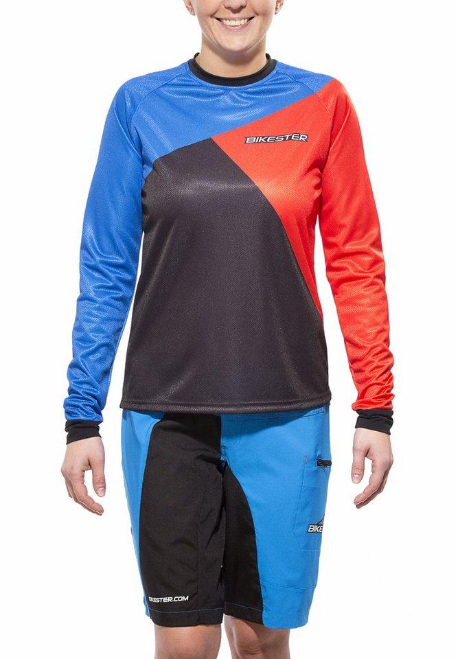 Bikester Radtrikot »Pro Gravity Set Women« in blau