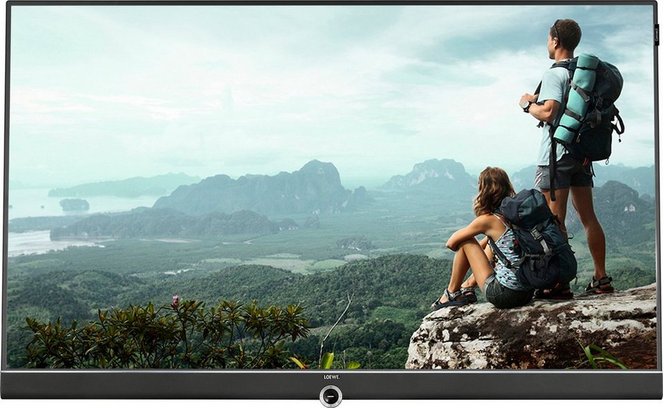 Loewe Connect ID 55, LED Fernseher, 140 cm (55 Zoll), 1080p (Full HD) in schwarz