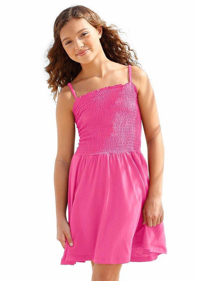 PETITE FLEUR Trägerkleid in pink