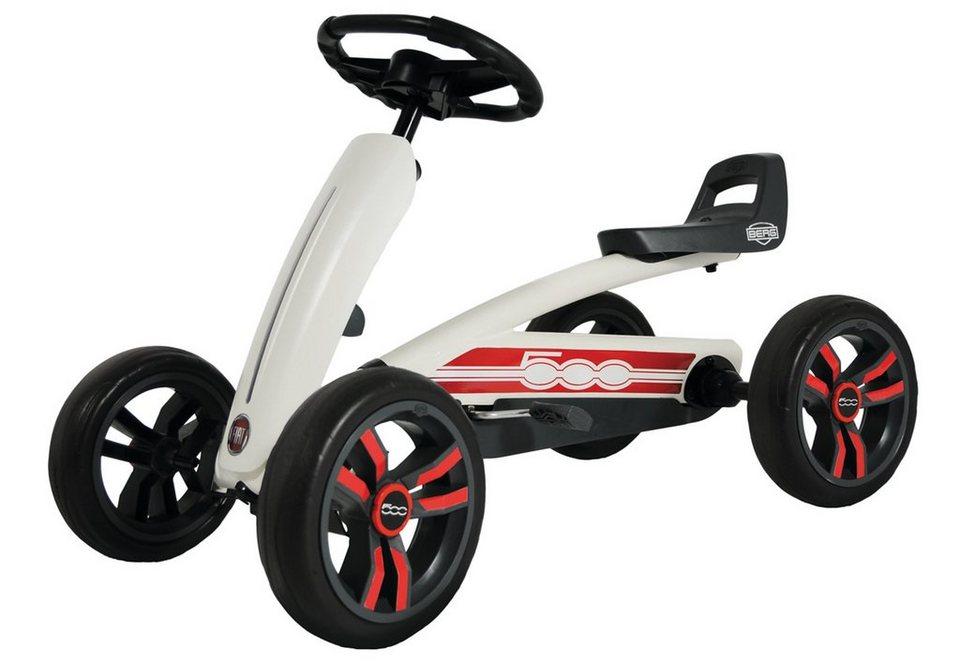 BERG Go-Kart, »Buzzy Fiat 500« in weiß
