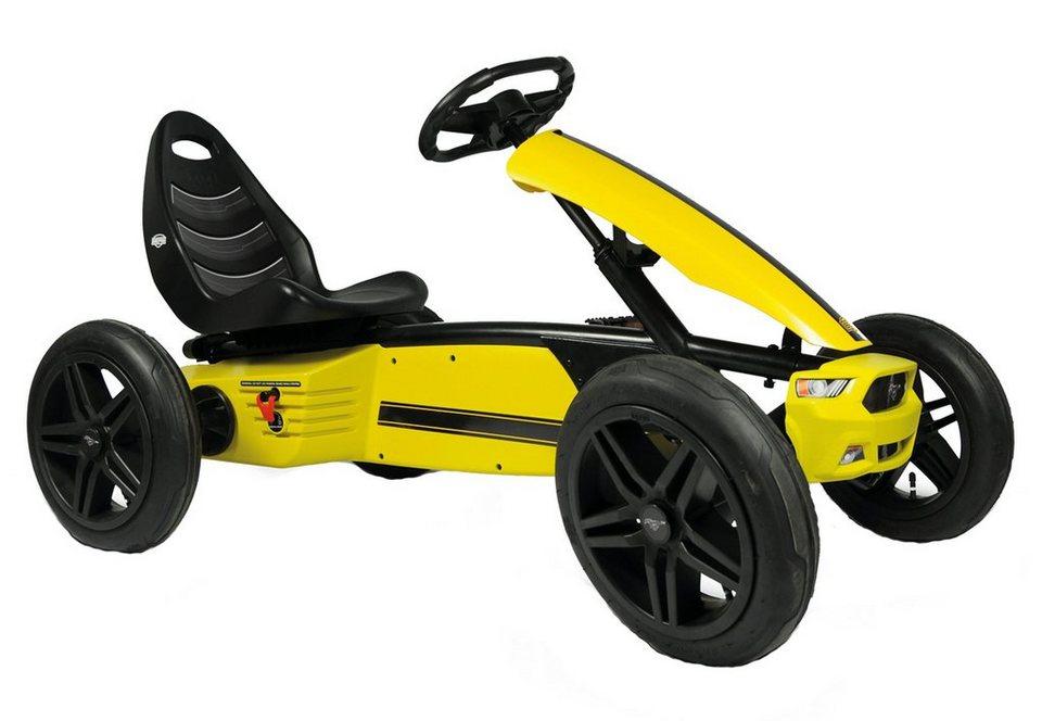 BERG Go-Kart, »Ford Mustang GT« in gelb
