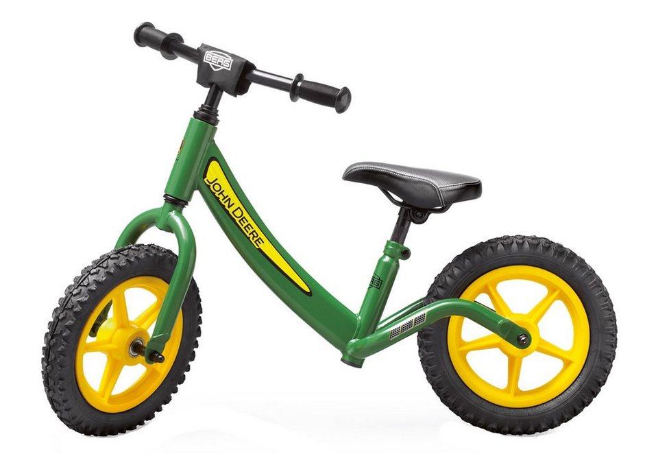 BERG Laufrad, »Biky John Deere« in grün