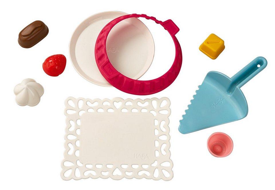 HABA® Sand-Spielzeug, »Sand-Süßwaren-Bäckerei - bunt« in bunt