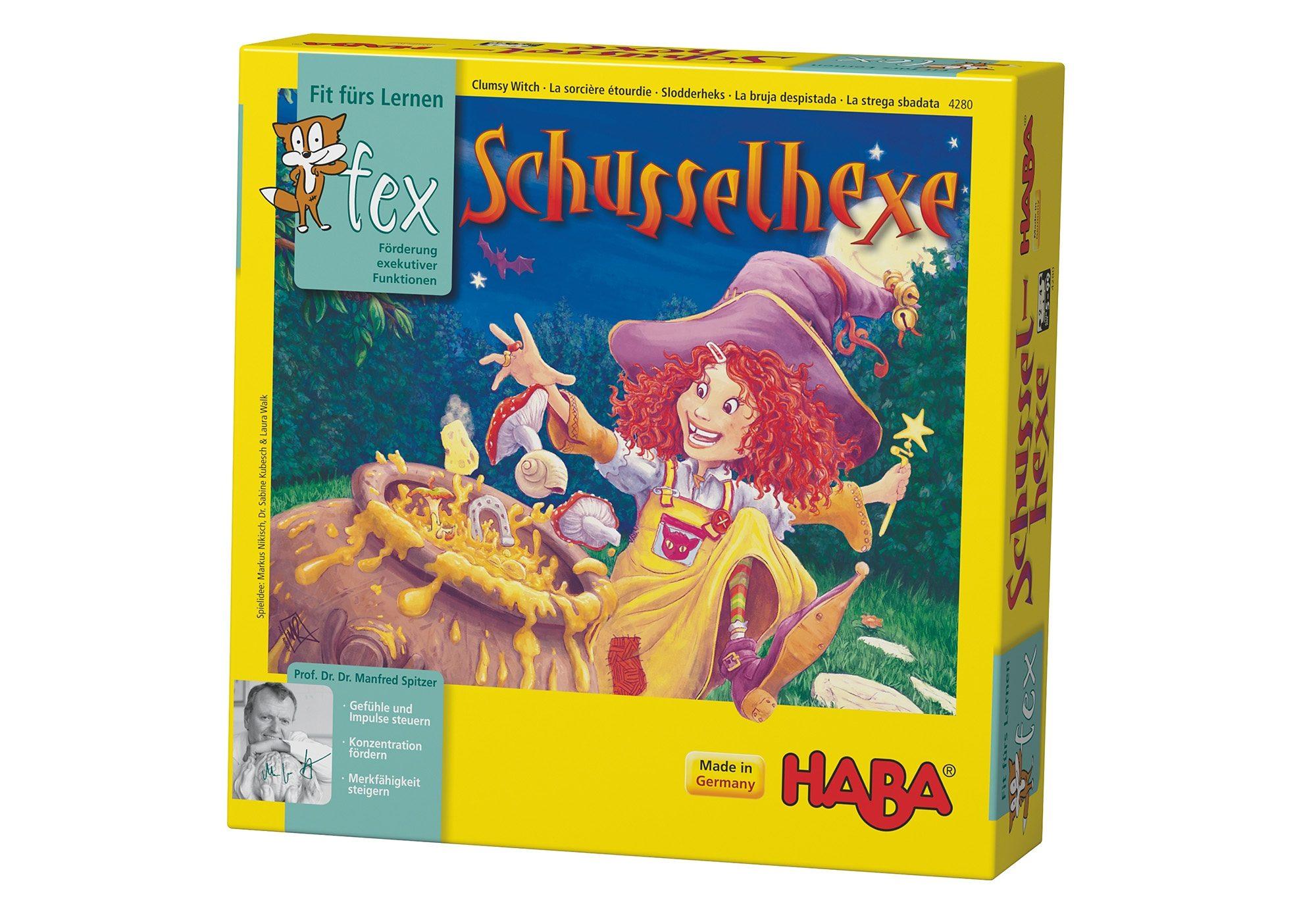 HABA® Kinder-Spiel, »Schusselhexe«