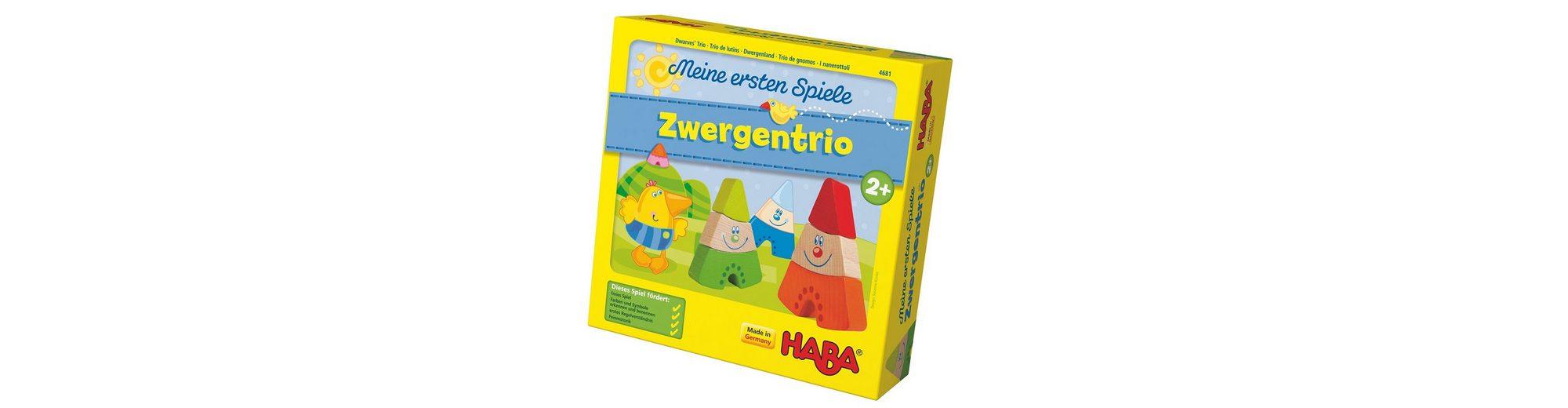 HABA® Kinder-Spiel, »Meine ersten Spiele - Zwergentrio«