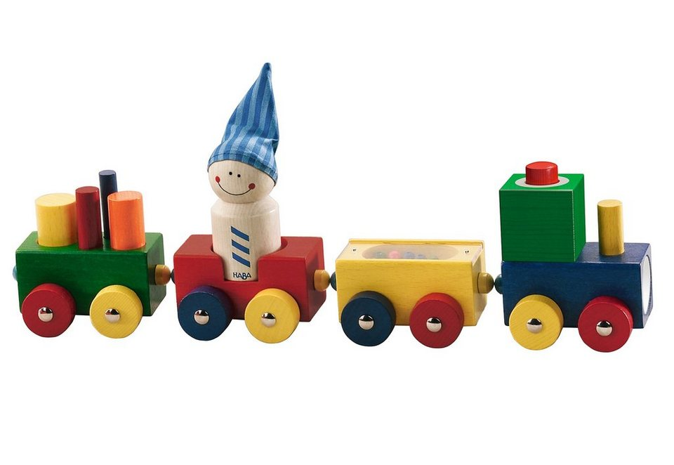 HABA® Eisenbahn, »Lokmock« in bunt
