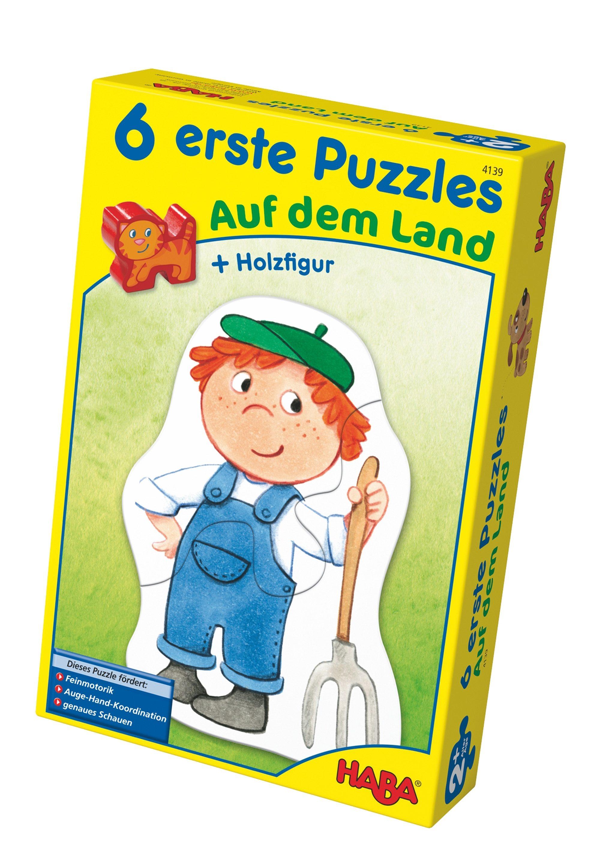 HABA® Holz-Puzzle, »Erste Puzzle - Auf dem Land«