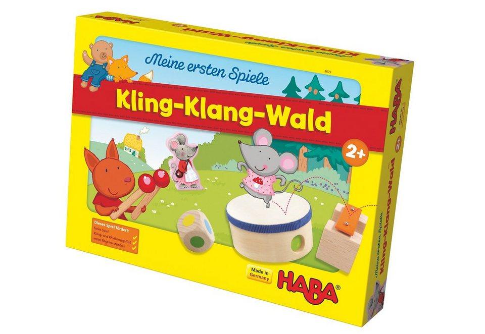 HABA® Kinder-Spiel, »Meine ersten Spiele - Kling-Klang-Wald«