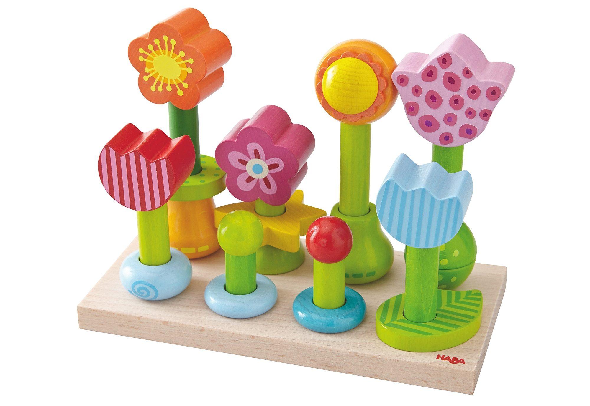 HABA® Steck-Spiel, »Blumengarten«