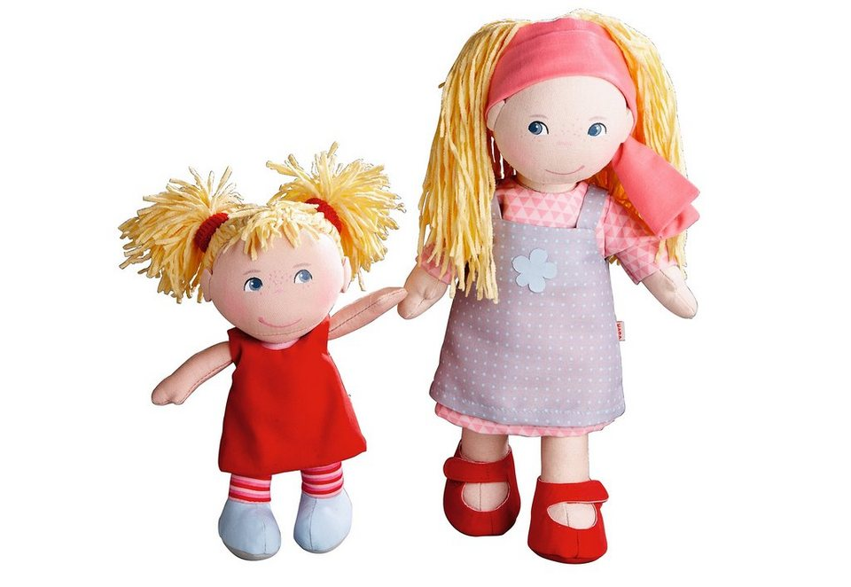 HABA® Puppen-Schwestern, »Lennja & Elin« in bunt