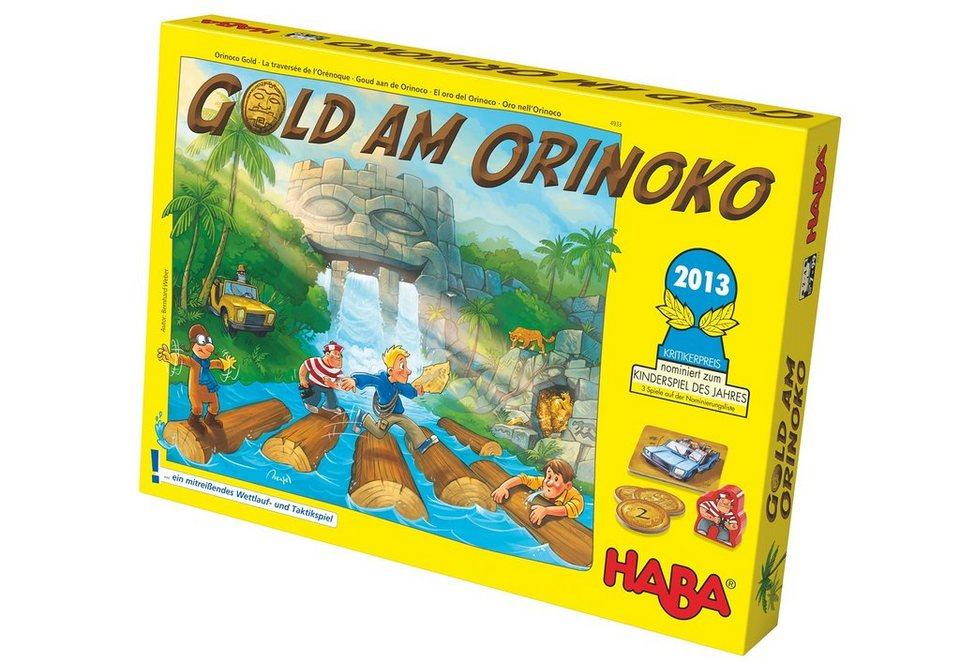 HABA® Kinder-Spiel, »Gold am Orinoko«