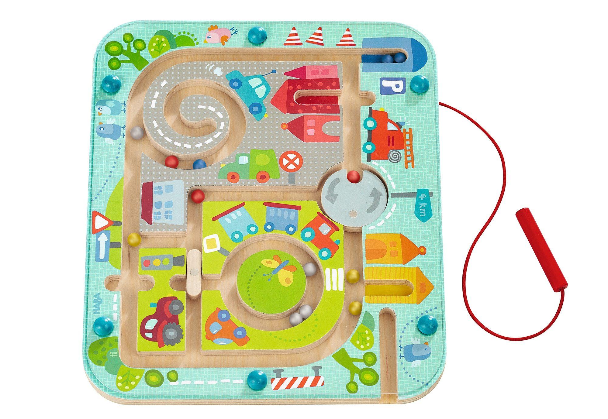HABA® Magnet-Spiel, »Stadtlabyrinth«