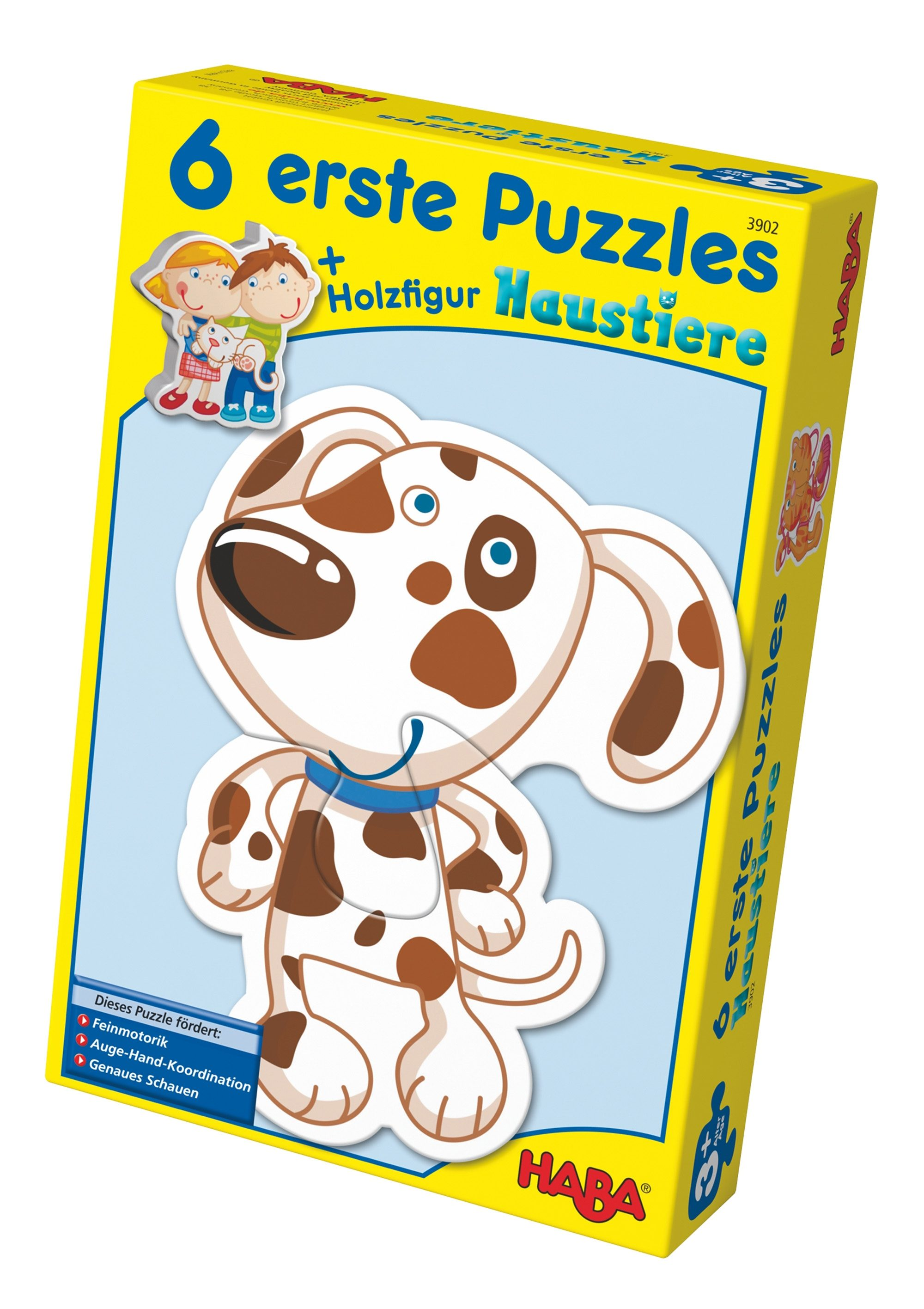 HABA® Holz-Puzzle, »Erste Puzzle - Haustiere«