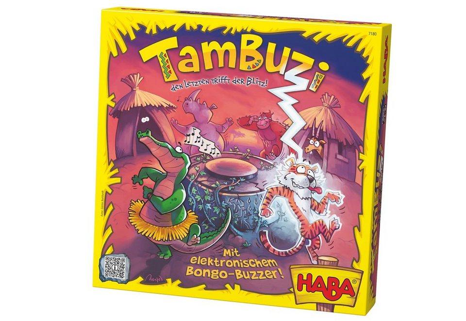 HABA® Kinder-Spiel, »Tambuzi - den Letzten trifft der Blitz!«