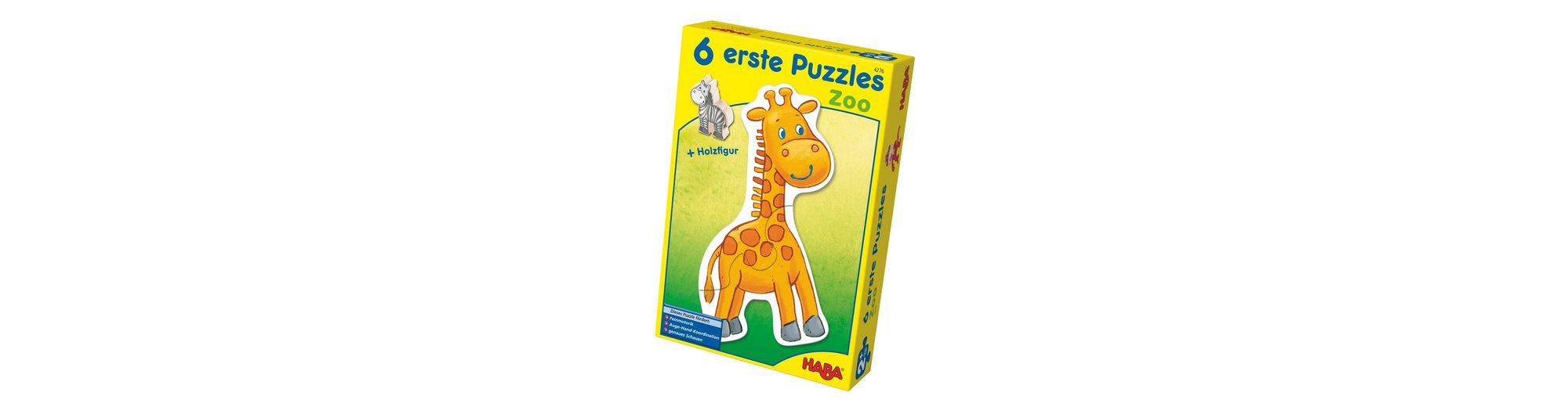 HABA® Holz-Puzzle, »Erste Puzzle - Zoo«