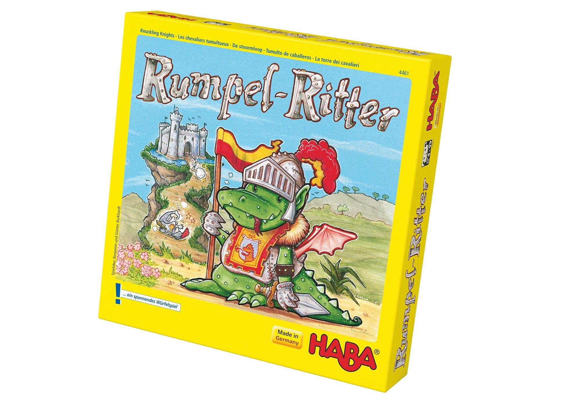 HABA® Kinder-Spiel, »Rumpel-Ritter«