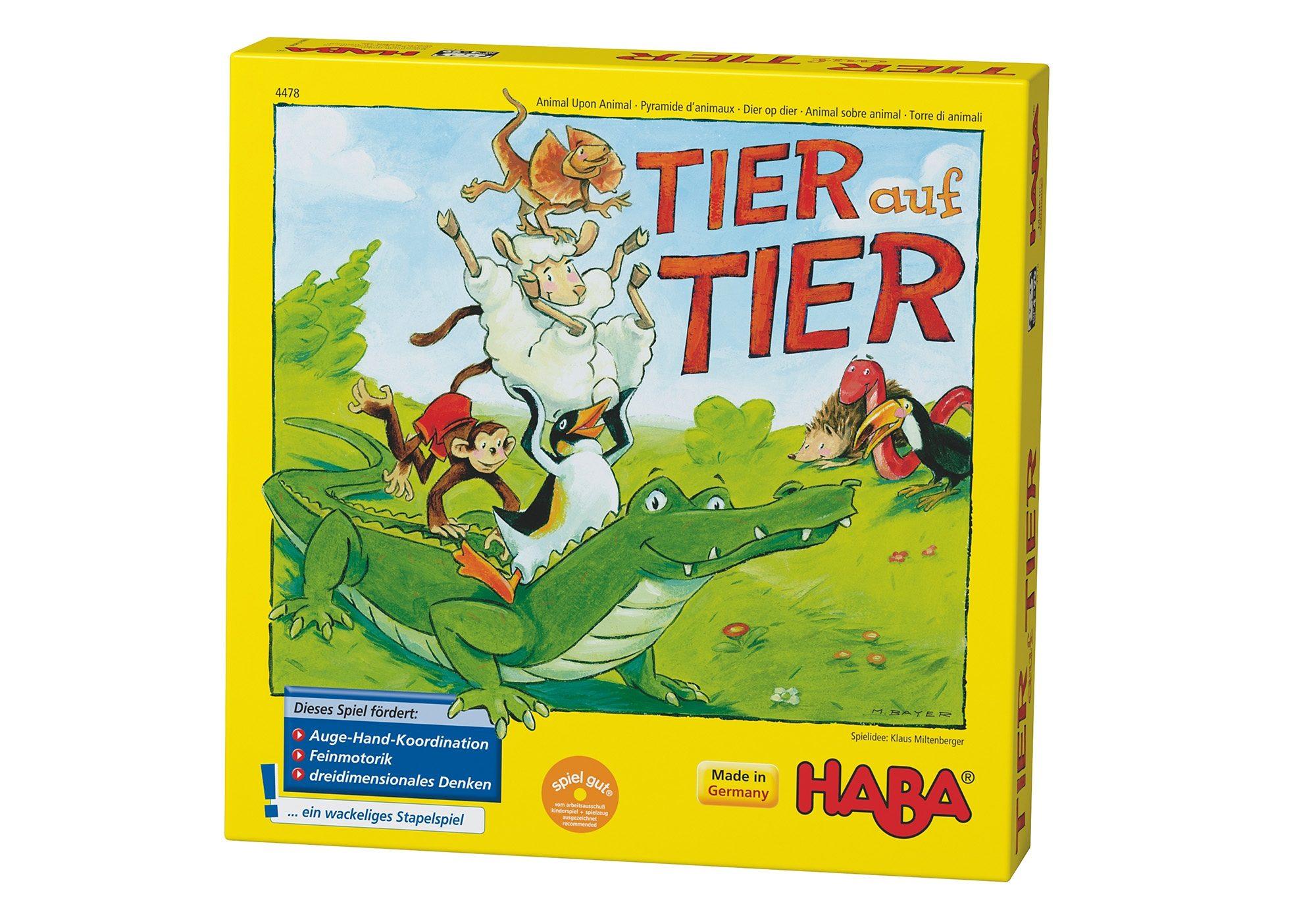 HABA® Kinder-Spiel, »Tier auf Tier«